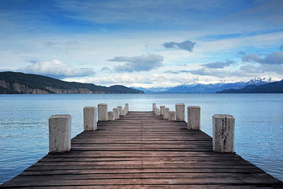 Photograph - Dock by Aleaimage