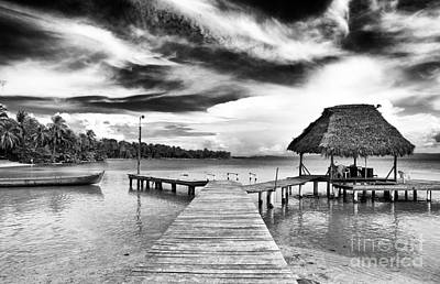 Photograph - Dock At Drago by John Rizzuto