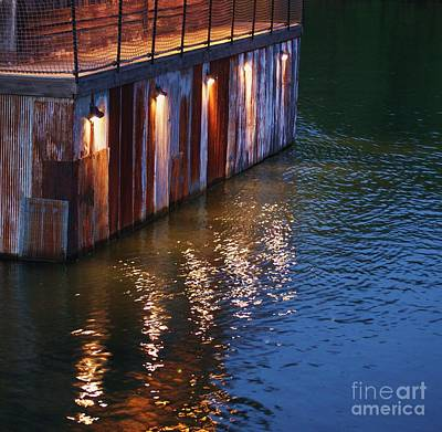 Photograph - Dock At Dusk by Julie Clements