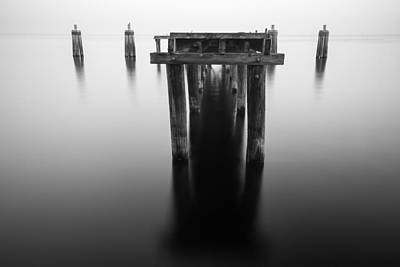 Photograph - Dock At Twilight by Stefan Mazzola