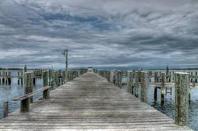 Rhode Island Photograph - Dock Days by Digital  Illumination LLC