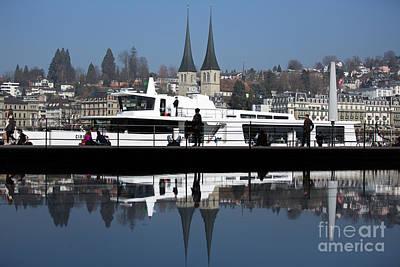 Photograph - Dock by Maurizio Bacciarini