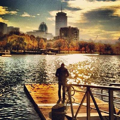 Skylines Wall Art - Photograph - Dock Of The Bay #dock #bay #charles by Ryan Laperle