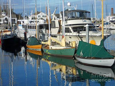 Dock Of The Bay Art Print by Lauren Leigh Hunter Fine Art Photography