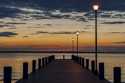 Photograph - Dock Of The Bay Seaside New Jersey by Terry DeLuco