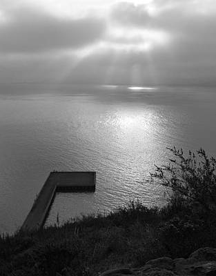 Photograph - Dock On San Francisco Bay by Scott Rackers