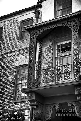 Photograph - Dock Street Balcony by John Rizzuto
