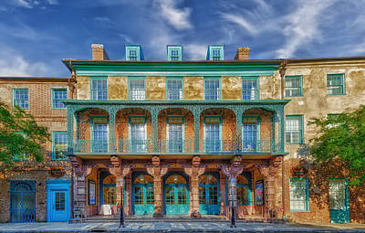 Dock Street Theatre - Charleston Print by Frank J Benz