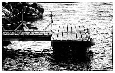 Photograph - Dock View by John Rizzuto