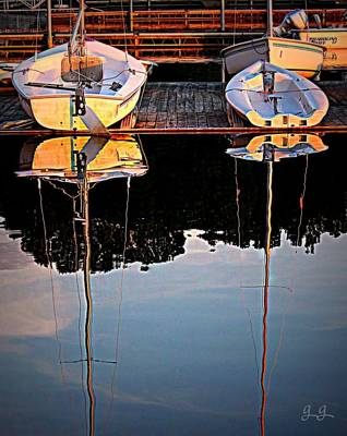 Photograph - Docked by Geri Glavis