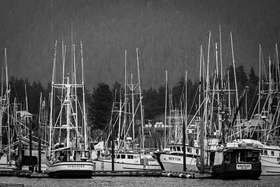 Photograph - Docked by Melinda Ledsome