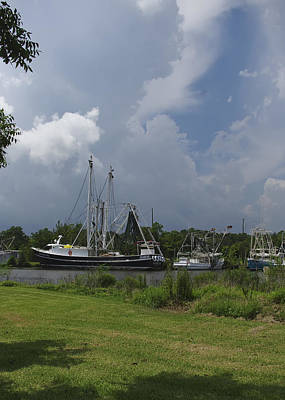 Photograph - Docked by Rhonda McDougall
