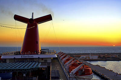 Photograph - Docking At Progreso by Jason Politte