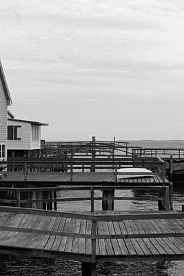 Coastal Maine Photograph - Docks by Becca Brann