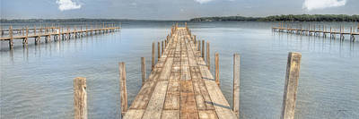 Photograph - Docks by Gary Gunderson
