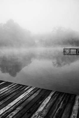Photograph - Docks On The Lake by Parker Cunningham