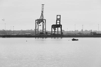 Docks Art Print by Svetlana Sewell
