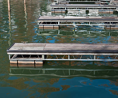Photograph - Dockside Reflections by Paulette B Wright