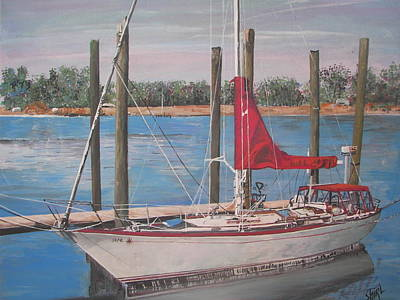 Dockside Original by Shirley Rush