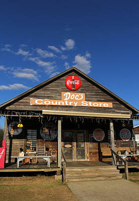 Doc's Country Store Art Print