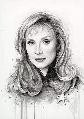 Doctor Beverly Crsuher Original by Olga Shvartsur