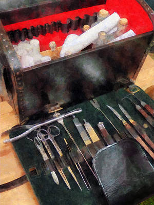 Photograph - Doctor - Civil War Medical Instruments by Susan Savad