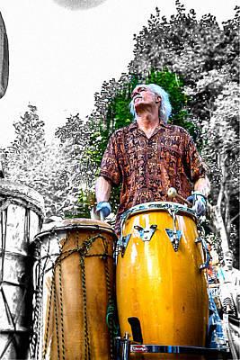 Doctor Drum Art Print by John Haldane