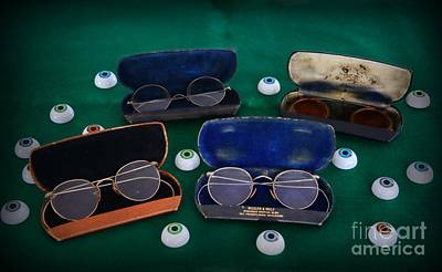 Eye Chart Photograph - Doctor - Optomerist - Glasses And Eyes by Paul Ward