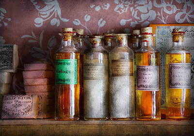 Photograph - Doctor - Perfume - Soap And Cologne by Mike Savad