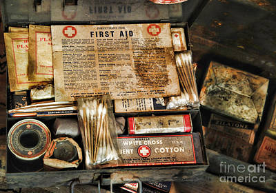First Responders Photograph - Doctor - The First Aid Kit by Paul Ward