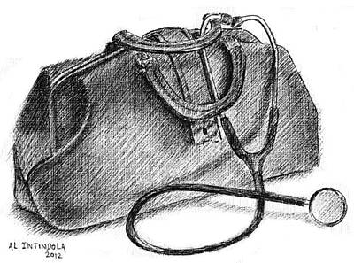 Doctors Bag Art Print