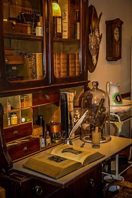 Steam Punk Photograph - Doctors Desk by Paul Freidlund