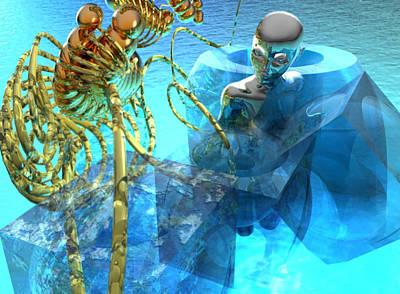 Digital Art - Doctors Of The Sea #1_p_300 by Stephen Donoho