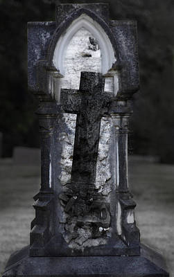 Graveyard Digital Art - Document by David Fox
