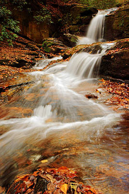Photograph - Dodd Creek Falls by Daniel Woodrum