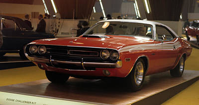 Photograph - Dodge 1971 Challenger R/t by Dragan Kudjerski