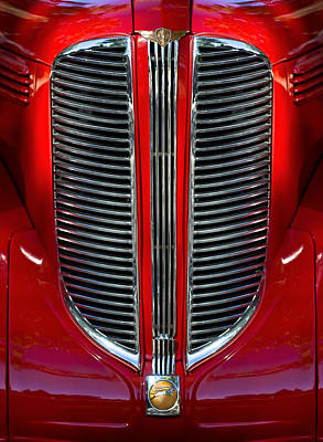Dodge - Plymouth - Chrysler Automobiles Photograph - Dodge Brothers Grille by Jill Reger