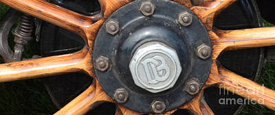 Hubcap Wall Art - Photograph - Dodge Brothers Hubcap And Spokes by Luther Fine Art