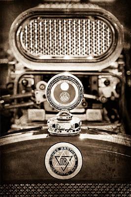 Dodge Brothers Moto Meter - Emblem Art Print by Jill Reger