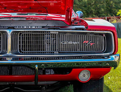 Art Print featuring the photograph Dodge Charger Rt Classic  by Trace Kittrell