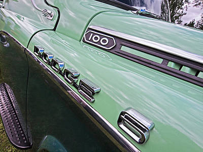 Photograph - Dodge D100 S by Gill Billington