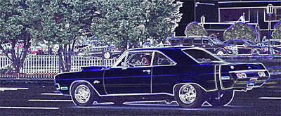 Photograph - Dodge Dart Swinger by Thomas  MacPherson Jr