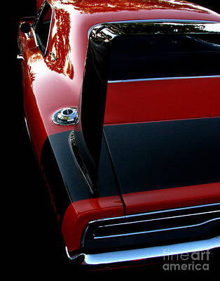 Photograph - Dodge Daytona Fin by Peter Piatt