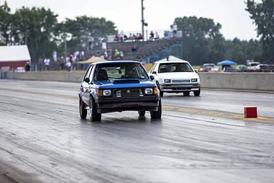 Dodge Omni Glh Vs Rwd Dodge Shadow - Without Times Art Print