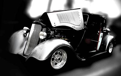 Hot Rod Photograph - Dodge Power by Aaron Berg