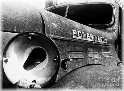 Dodge - Power Wagon 1 Art Print by James Aiken