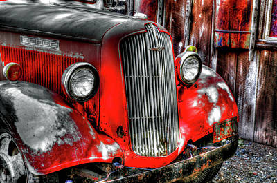 Pick Up Truck Photograph - Dodge Truck, Jerome, Yavapai County by Panoramic Images