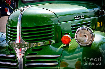 Photograph - Dodge Truck by Les Palenik