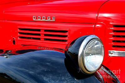 Photograph - Dodge Truck by Olivier Le Queinec