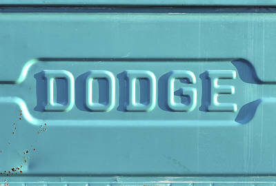 Extreme Restaurant Photograph - Dodge Truck Tailgate by Terry DeLuco